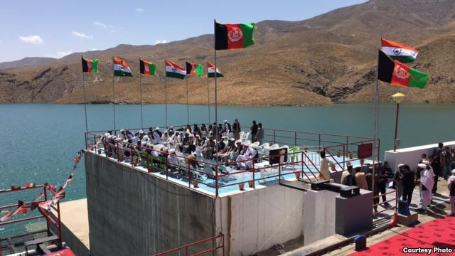 Preparation to inaugurate the Salma Dam, referred to as the Afghanistan India Friendship Dam by both countries, and is built with $300 million of Indian money, June 4, 2016.
